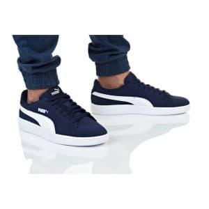 נעליים פומה לגברים PUMA SMASH V2 BUCK - כחול