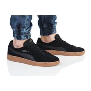 נעליים פומה לגברים PUMA SMASH V2 BUCK - שחור