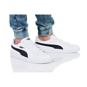 נעליים פומה לגברים PUMA SMASH V2 BUCK - לבן/שחור