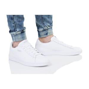 נעליים פומה לגברים PUMA SMASH V2 BUCK - לבן