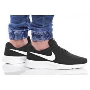 נעלי הליכה נייק לגברים Nike TANJUN - שחור/לבן