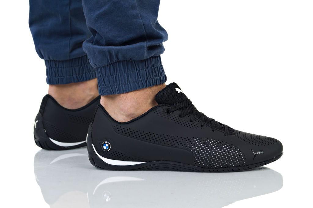 נעליים פומה לגברים PUMA BMW MS DRIFT CAT 5 ULTRA TEAM - שחור מלא
