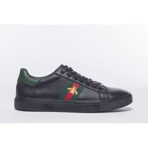 נעליים אל איי פולו  לגברים LA POLO 8204 - שחור