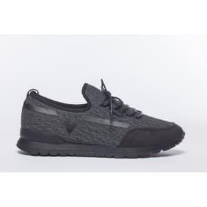 נעלי הליכה אל איי פולו  לגברים LA POLO 8206 - שחור