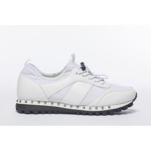 נעלי הליכה אל איי פולו  לגברים LA POLO 8207 - לבן
