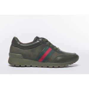 נעלי הליכה אל איי פולו  לגברים LA POLO 8212 - ירוק
