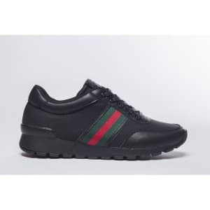 נעלי הליכה אל איי פולו  לגברים LA POLO 8212 - שחור