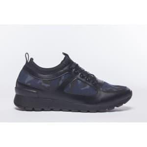 נעלי הליכה אל איי פולו  לגברים LA POLO 8213 - שחור/כחול