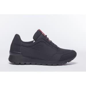 נעלי הליכה אל איי פולו  לגברים LA POLO 8228 - שחור