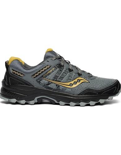 נעליים סאקוני לגברים Saucony EXCURSION TR12 - אפור/צהוב
