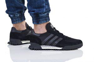 נעליים אדידס לגברים Adidas MARATHON TR - אפור/שחור