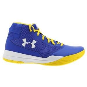 נעלי כדורסל אנדר ארמור לגברים Under Armour UA Jet 2017 - כחול/צהוב