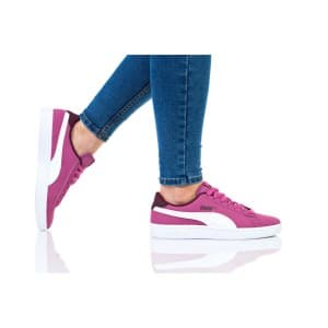 נעלי הליכה פומה לנשים PUMA SMASH V2 BUCK JR - סגול/ורוד
