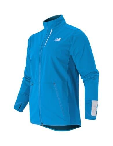 בגדי חורף ניו באלאנס לגברים New Balance MJ53213 - תכלת