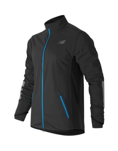 בגדי חורף ניו באלאנס לגברים New Balance MJ63218 - שחור