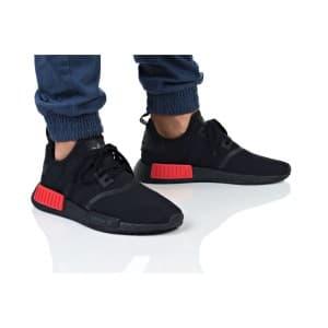 נעלי הליכה אדידס לגברים Adidas NMD_R1 STLT PK - שחור/אדום