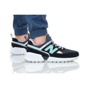 נעליים ניו באלאנס לגברים New Balance MS574 - אפור/טורקיז