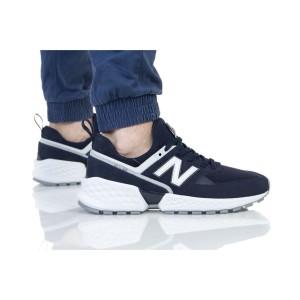 נעליים ניו באלאנס לגברים New Balance MS574 - כחול/לבן