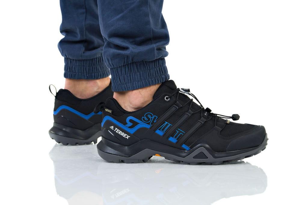 נעליים אדידס לגברים Adidas TERREX SWIFT R2 GTX - שחור/כחול
