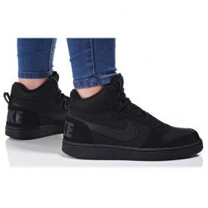 נעליים נייק לנשים Nike COURT BOROUGH MID - שחור מלא