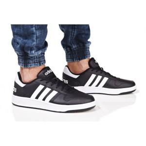 נעלי הליכה אדידס לגברים Adidas HOOPS 2 - לבן/שחור