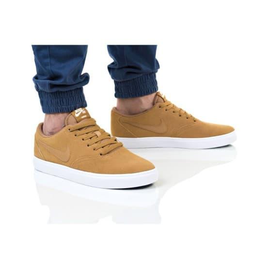 נעליים נייק לגברים Nike SB CHECK SOLAR - חום