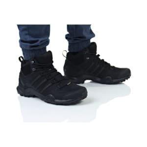 נעלי טיולים אדידס לגברים Adidas TERREX SWIFT R2 MID GTX - שחור