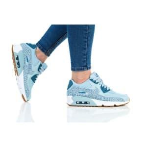 נעלי הליכה נייק לנשים Nike AIR MAX 90 LTR SE GG - תכלת