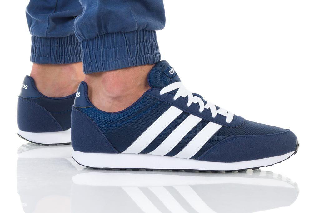 נעליים אדידס לגברים Adidas V RACER 2 - כחול כהה