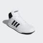 נעליים אדידס לגברים Adidas HOOPS 2 MID - שחור/לבן