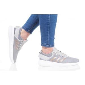 נעלי הליכה אדידס לנשים Adidas CF QTFLEX - אפור בהיר