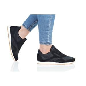 נעלי הליכה ריבוק לנשים Reebok CL NYLON SLIM TXT LUX - שחור/אפור