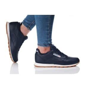 נעלי הליכה ריבוק לנשים Reebok CLASSIC LEATHER GUM - כחול כהה