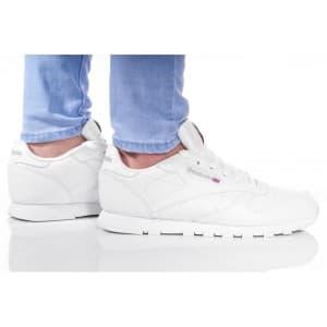 נעלי הליכה ריבוק לנשים Reebok CLASSIC LEATHER - לבן