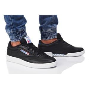 נעלי הליכה ריבוק לגברים Reebok CLUB C 85 SO - שחור