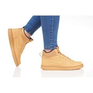 נעלי הליכה נייק לנשים Nike COURT BOROUGH MID - חאקי