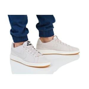 נעלי הליכה נייק לגברים Nike COURT ROYALE CANVAS - בז'
