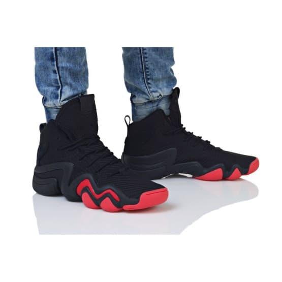 נעליים Adidas Originals לגברים Adidas Originals CRAZY 8 ADV CK - שחור/אדום