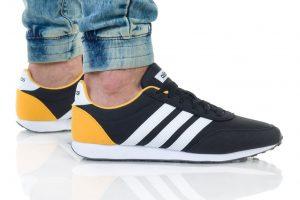 נעלי סניקרס אדידס לגברים Adidas V RACER 2 - שחור/צהוב