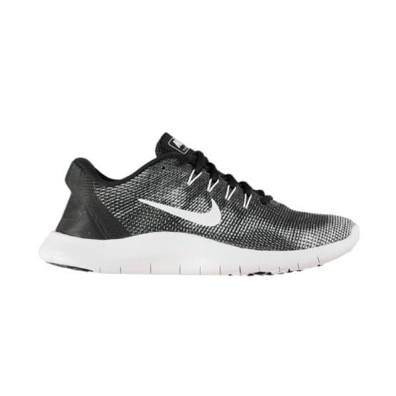 נעליים נייק לגברים Nike FLEX 2018 RN - שחור/לבן