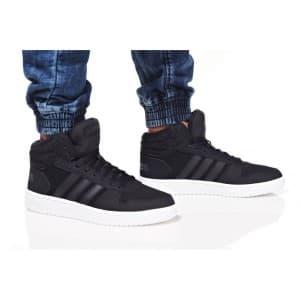 נעלי הליכה אדידס לגברים Adidas HOOPS 2 MID - שחור