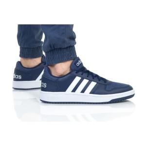 נעלי הליכה אדידס לגברים Adidas HOOPS 2 - כחול