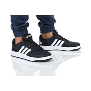 נעלי הליכה אדידס לגברים Adidas HOOPS 2 - שחור/לבן