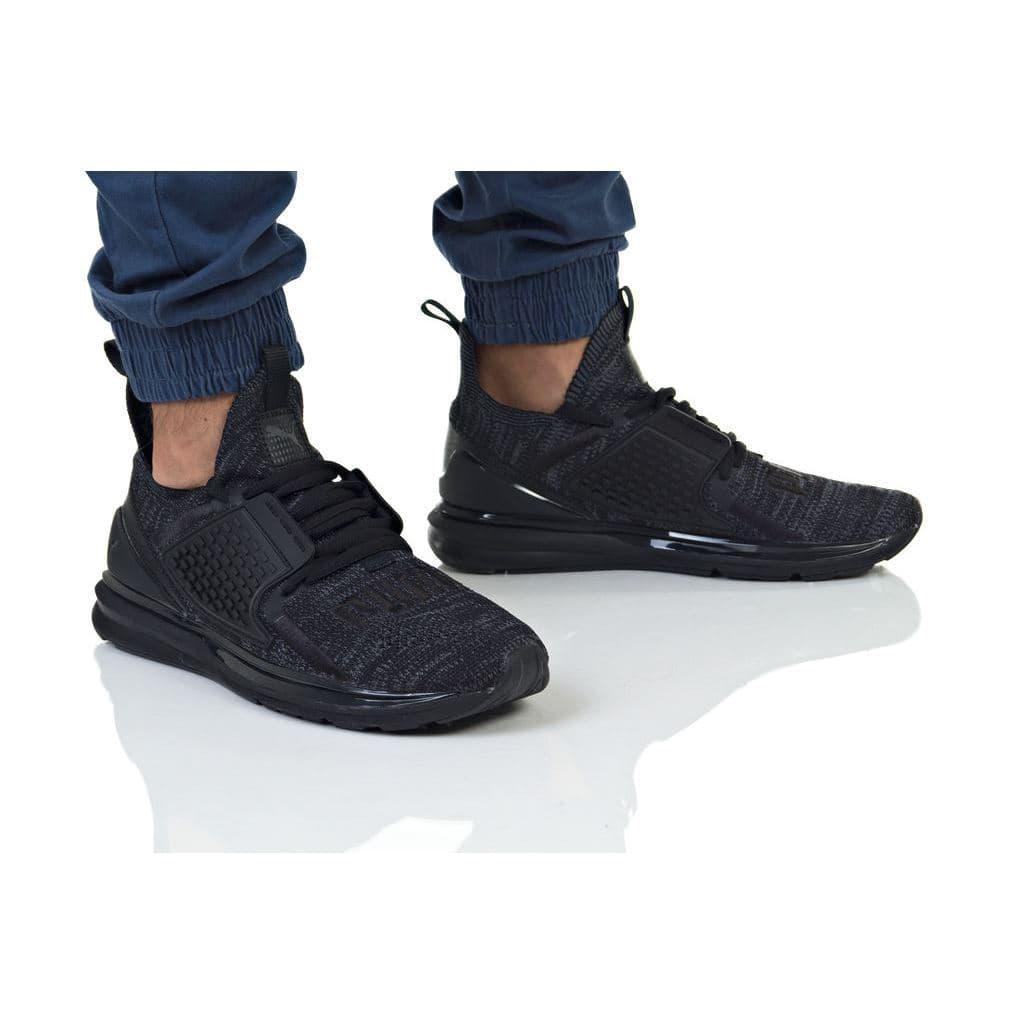 נעלי הליכה פומה לגברים PUMA IGNITE LIMITLESS 2 EVOKNIT - שחור ... 674cc6e2a