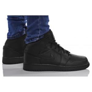 נעלי הליכה נייק לנשים Nike AIR JORDAN 1 MID - שחור