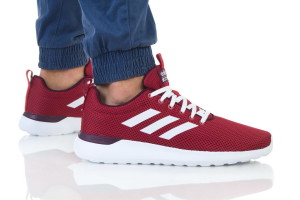 נעלי ריצה אדידס לגברים Adidas LITE RACER CLN - אדום כהה