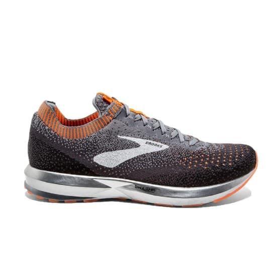 נעליים ברוקס לגברים Brooks Levitate 2 - אפור/כתום