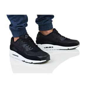 נעליים נייק לגברים Nike AIR MAX 90 PREMIUM - שחור מלא