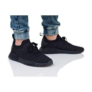 נעלי הליכה אדידס לגברים Adidas NMD_R1 STLT PK - שחור