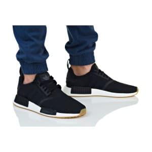 נעלי הליכה Adidas Originals לגברים Adidas Originals NMD R1 - שחור